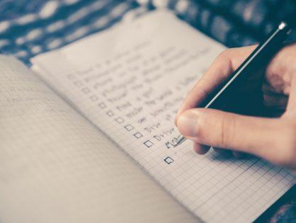 Checkliste Datenschutz